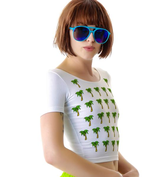 Venice Beach Palms Fitted Tee