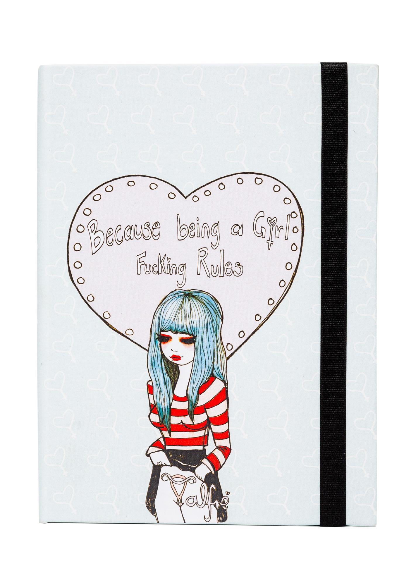 Valfré Girl Rules Journal