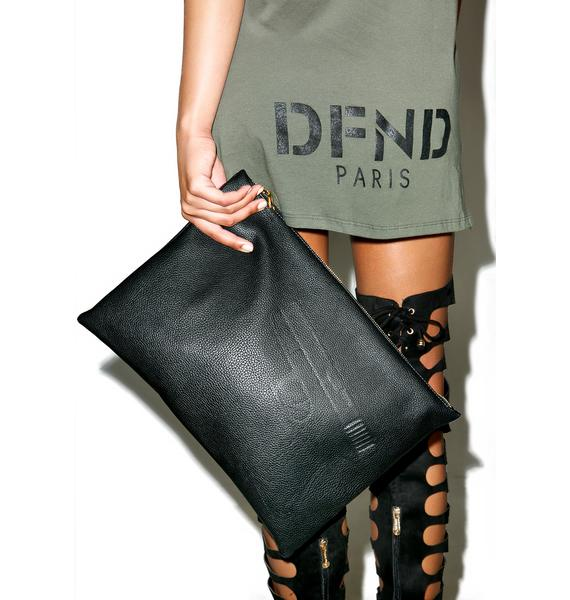 Defend Paris Defend Large Paris Clutch