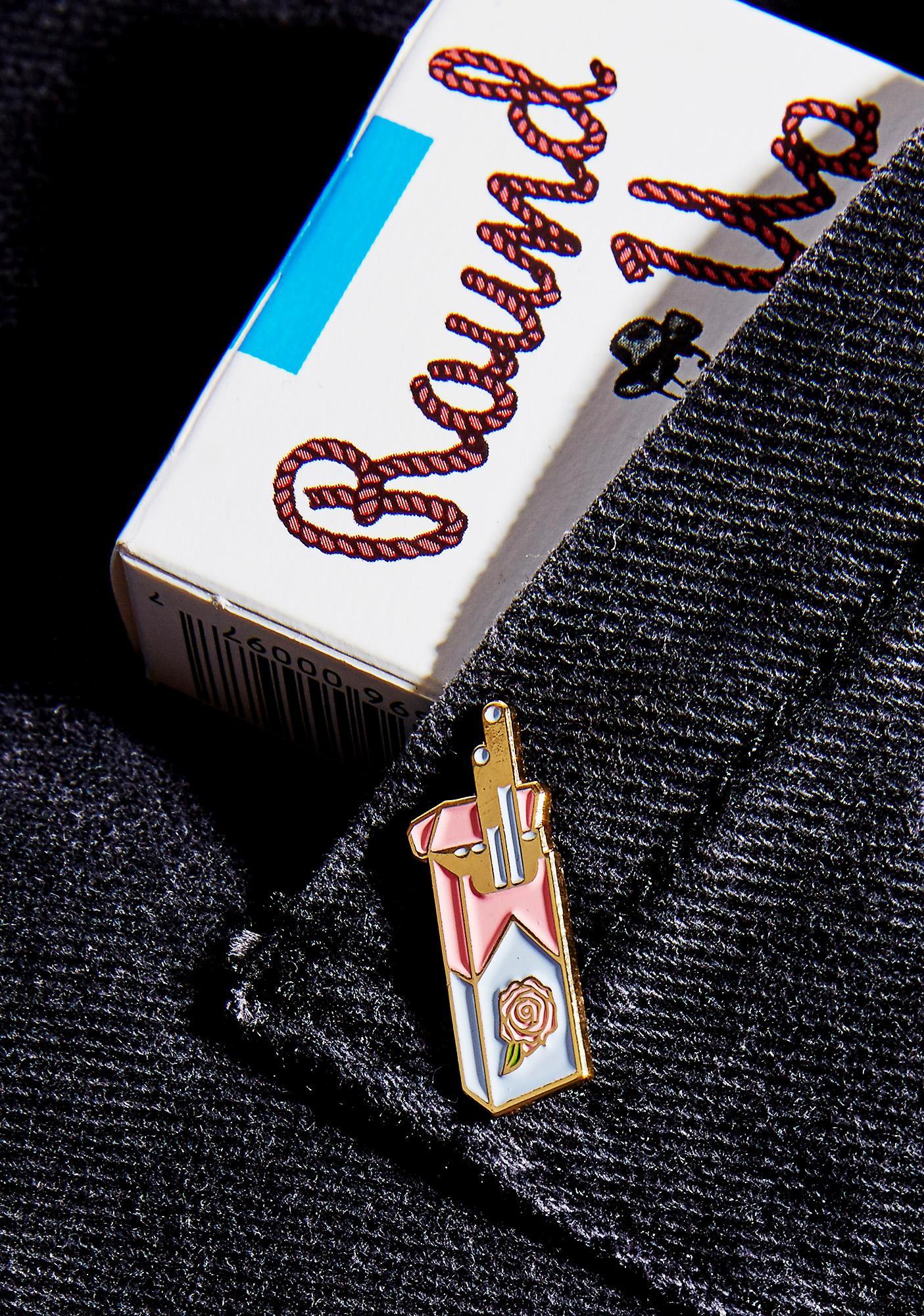 Rosehound Apparel Cigarettes Enamel Pin