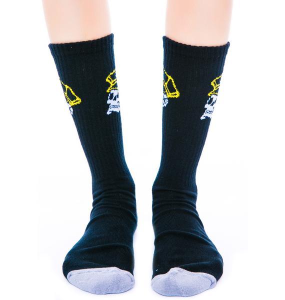 Rebel8 Civil Servant Socks