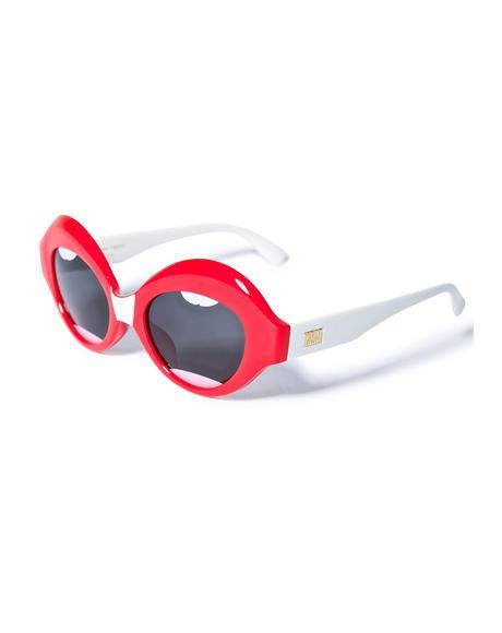 The Lips Saloma Tropic Sunglasses