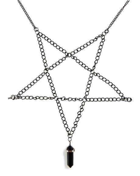 Pentalpha Body Chain