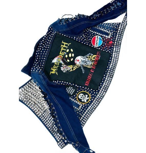 Hazmat Design Vintage Deadstock The Damned Jacket
