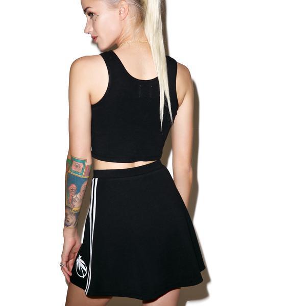 Valley High Palm Tennis Skirt