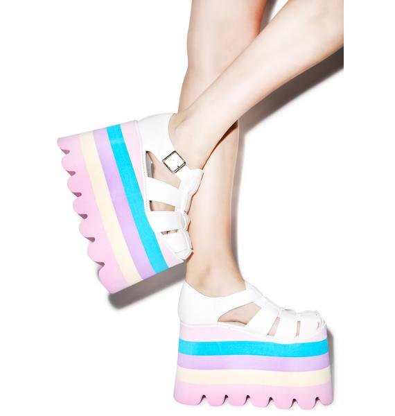 Current Mood Perf Pastel Skylar Sandals