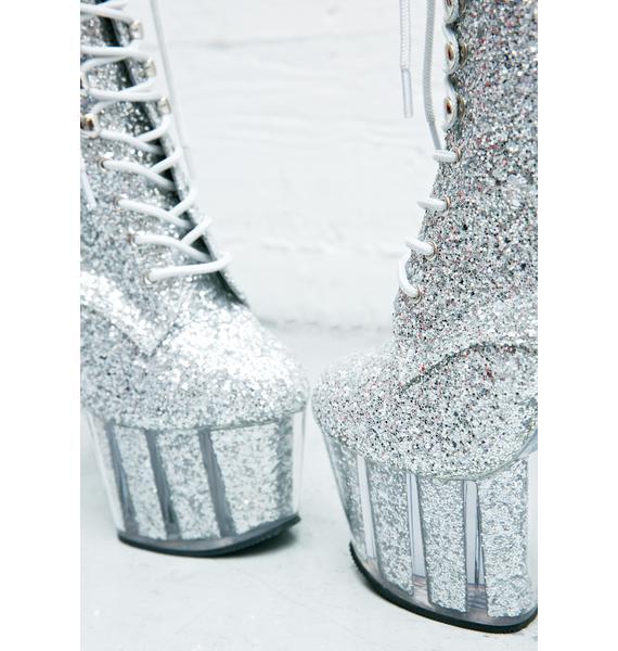 Pleaser Stardust Platform Boots