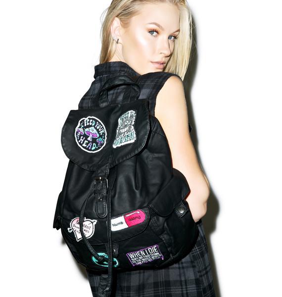 Disturbia Numb Me Backpack
