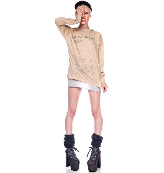 Wildfox Couture Take Me Home Long Sleeve Hoodie