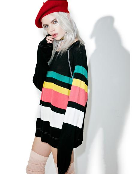 70s Stripe Sommers Sweater