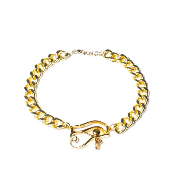 Eye of Rha Chain Choker