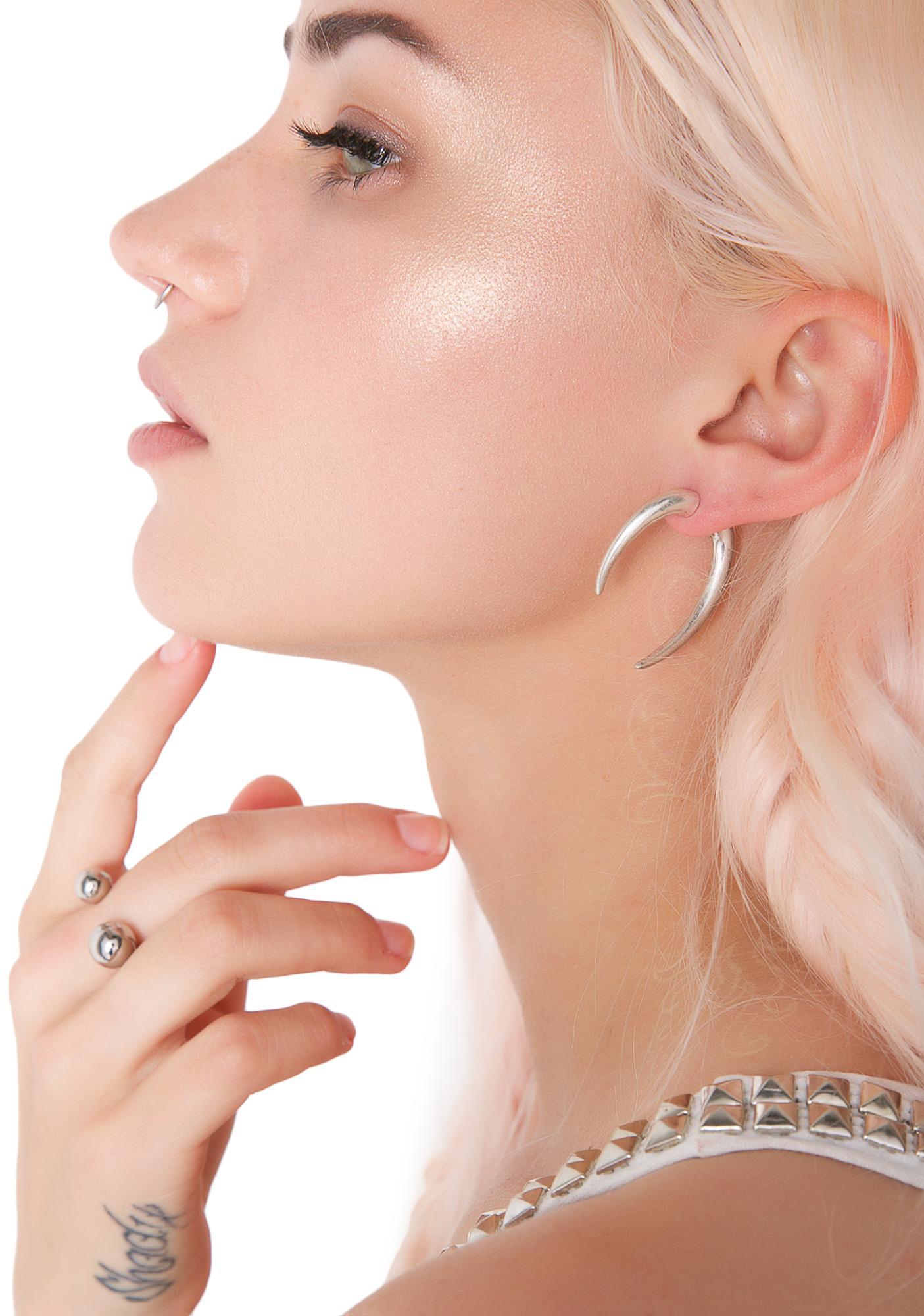 Accursed Horn Earrings