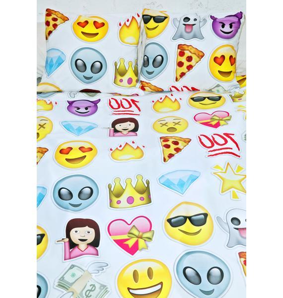 Sugarpills Emoji Bedding