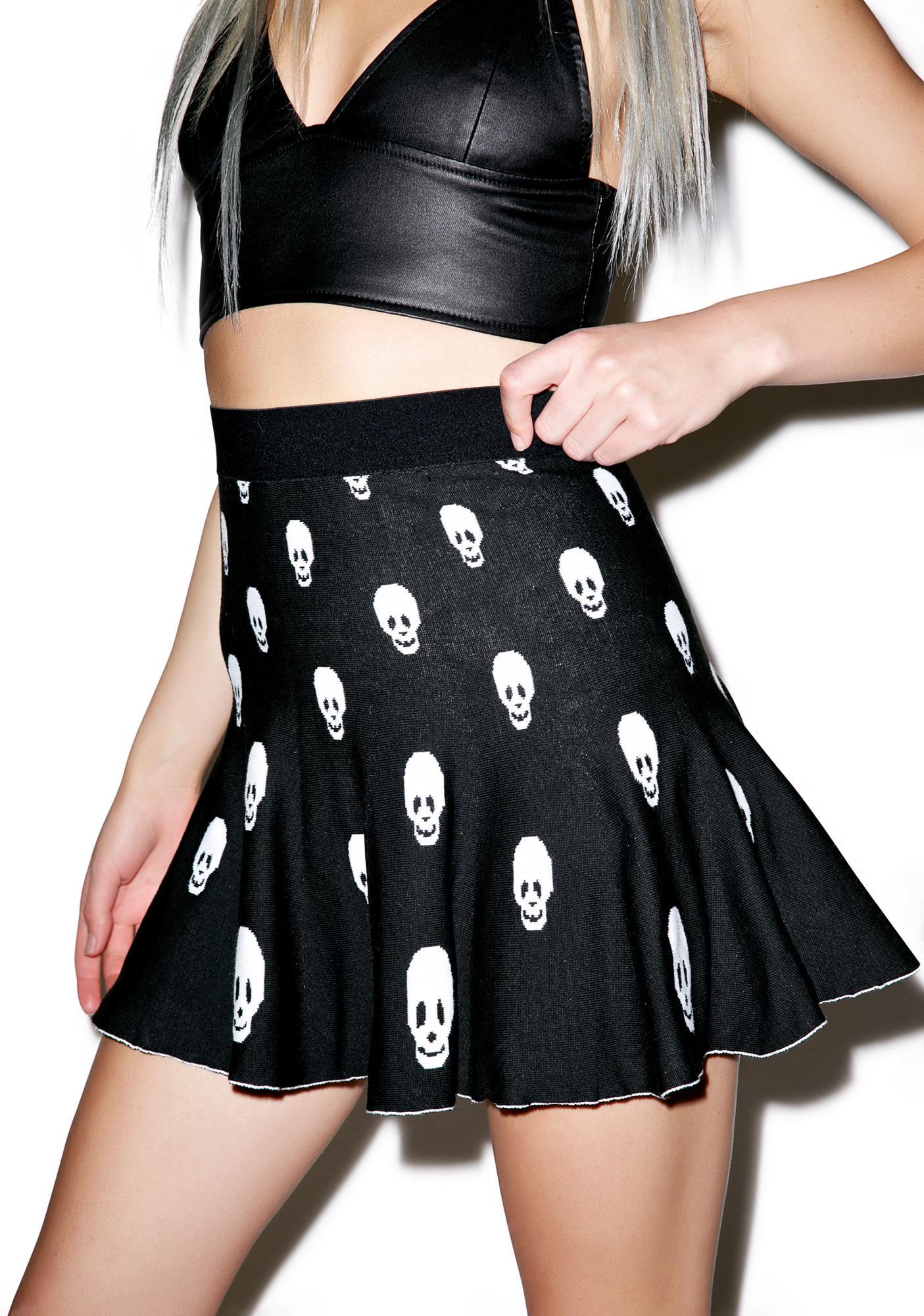 Skull Skater Skirt