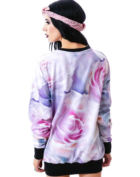 Pastel Moon Sweatshirt
