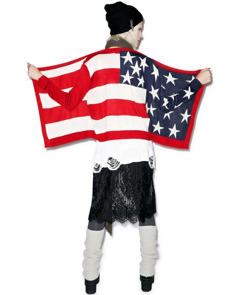 Mizz American Pie Cardigan