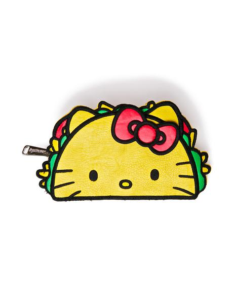 X Hello Kitty Taco Wallet