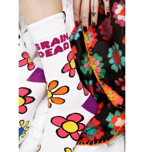 Teenage Brain Dead Socks
