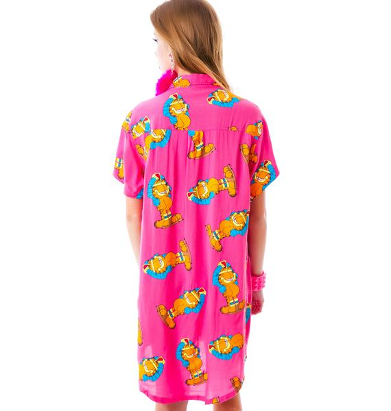 Lazy Oaf x Garfield Pharoah Enough Shirt