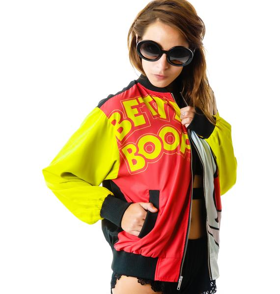 Joyrich Betty Boop Athletic Jacket