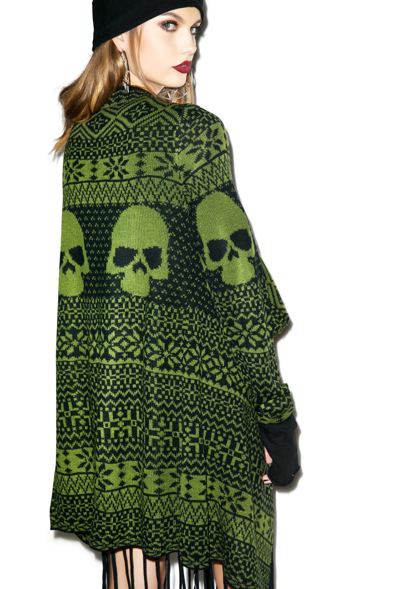 Iron Fist My Skull Sweater