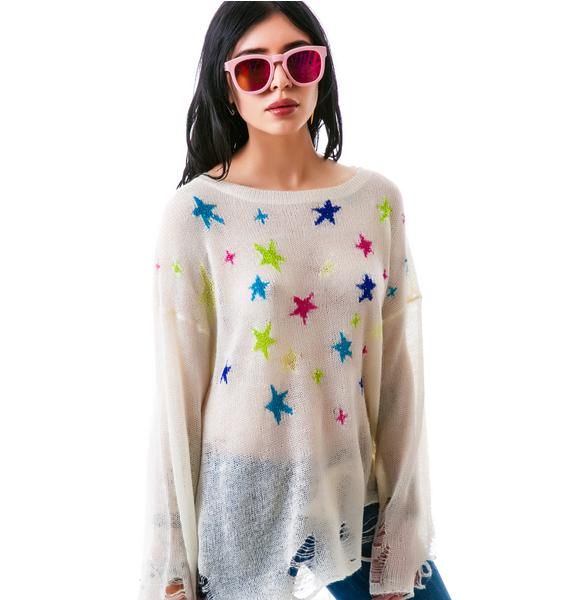 Wildfox Couture Nighttime Lennon Sweater