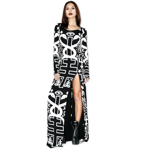 Killstar Spiritus Maxi Dress