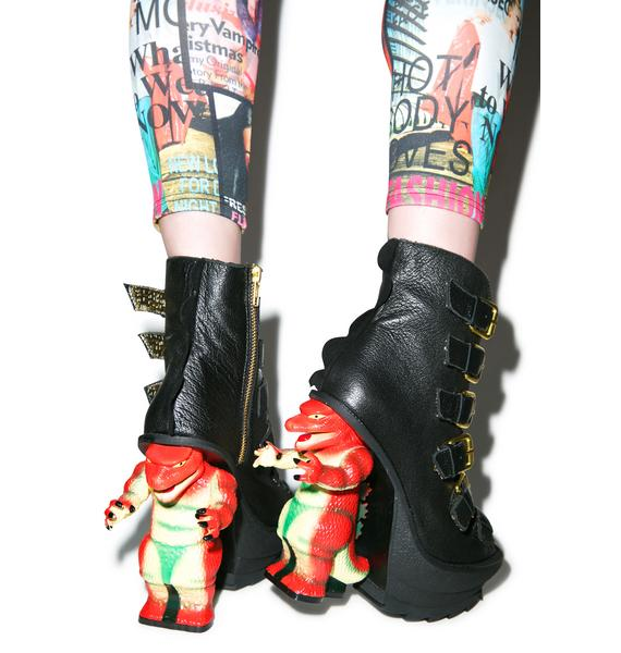 Irregular Choice Roarsum Booties