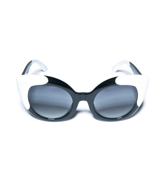 Crap Eyewear The Gradient Diamond Brunch Sunglasses