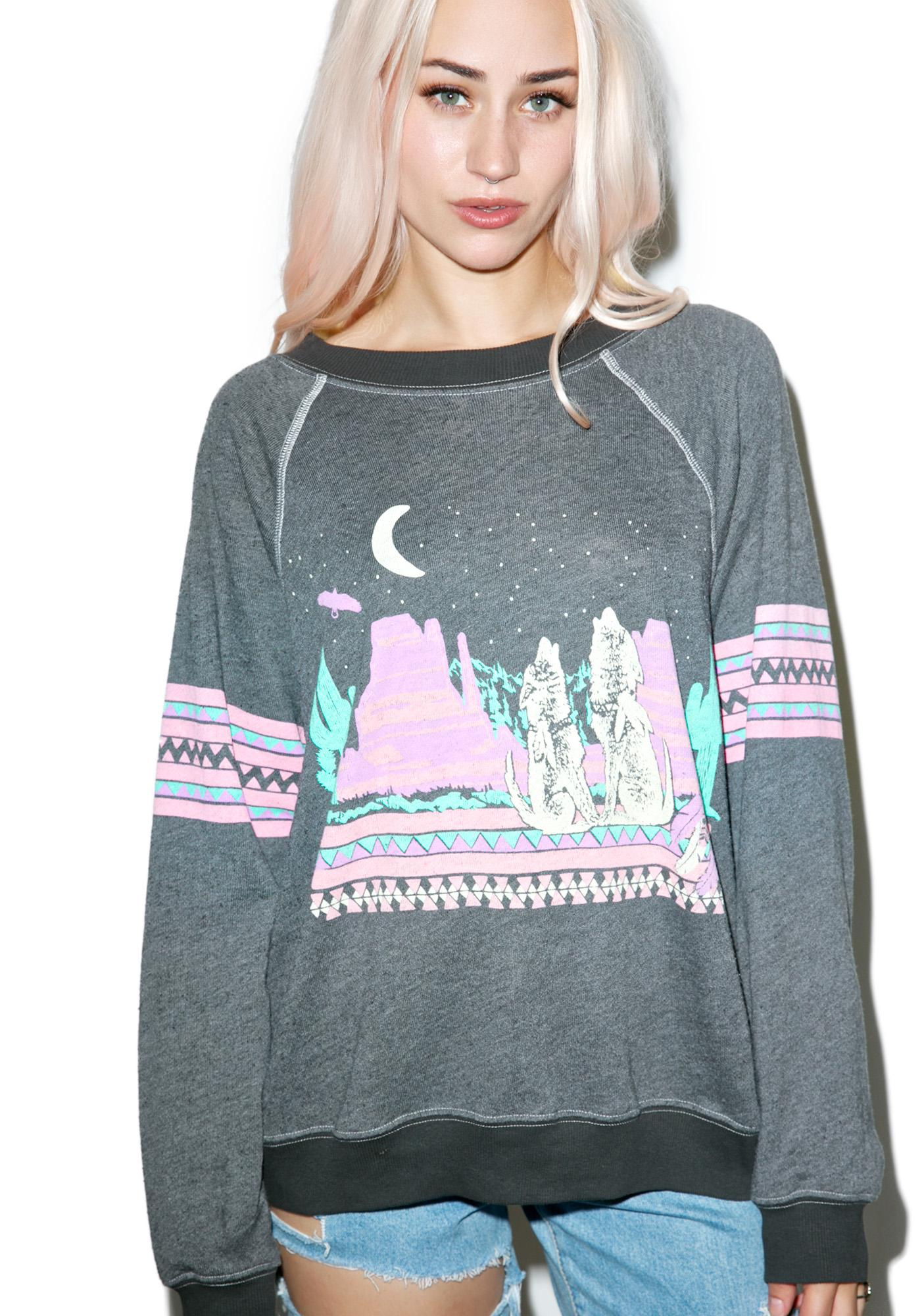 Wildfox Couture Desert Glow Kim's Sweater