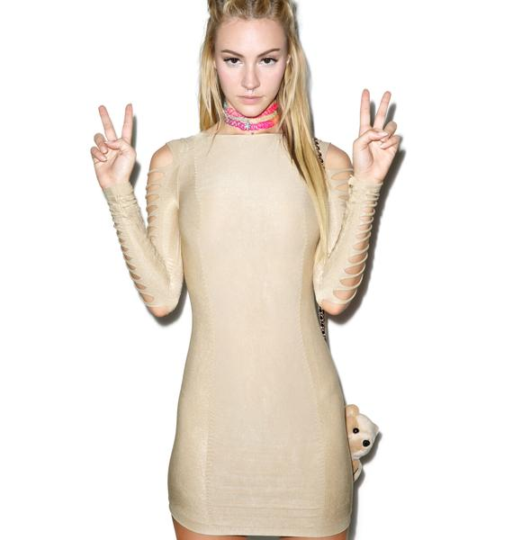Turnt to Shreds Bodycon Dress