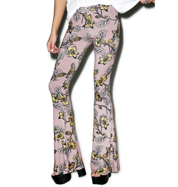 For Love & Lemons Ojai Bell Bottoms