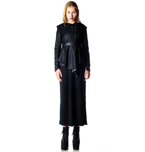 Widow Deceased But Dreaming Drape Jacket