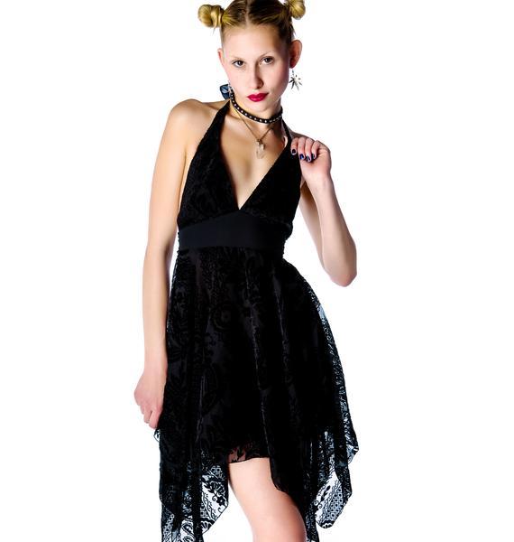 Lip Service Crystal Visions Chiffon Dress