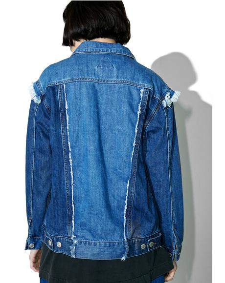 Justin Paneled Denim Jacket