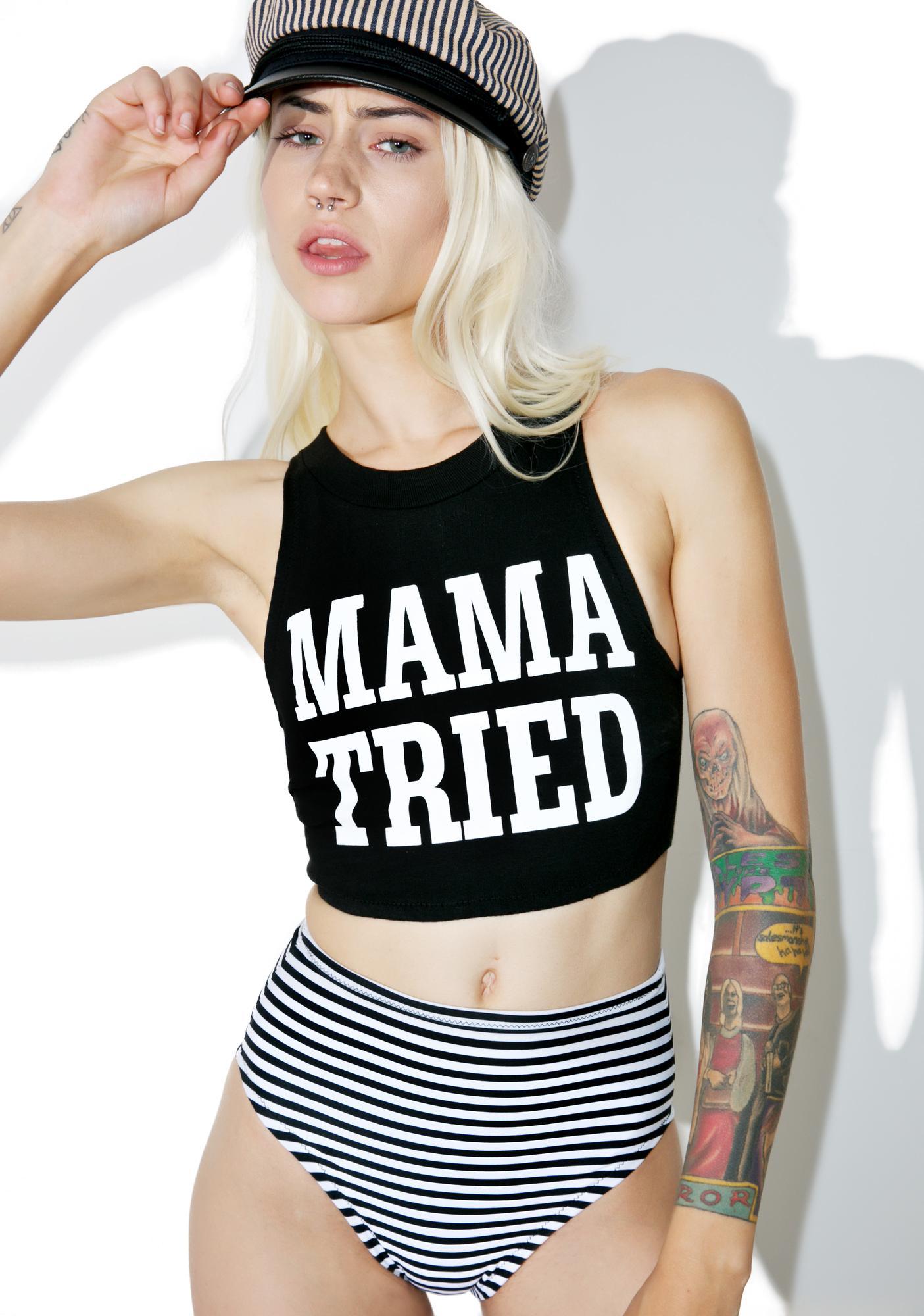 Stardust Swim Mama Tried Crop Set