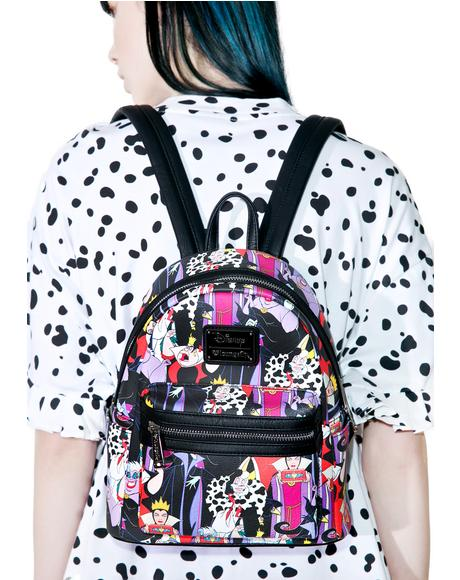 X Disney Villains Evil Queens Backpack