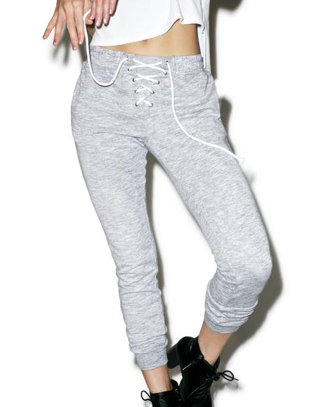 Point Guard Lace Up Sweats