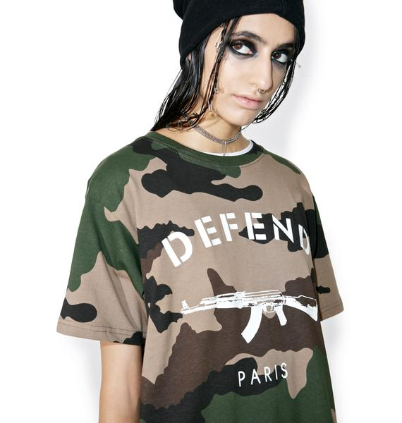 Defend Paris Yosef Paris Tee