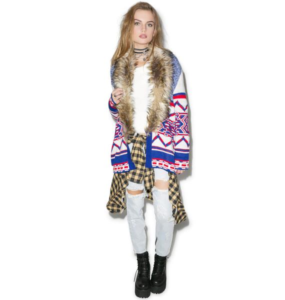 Mink Pink Legends of the Forest Cardi