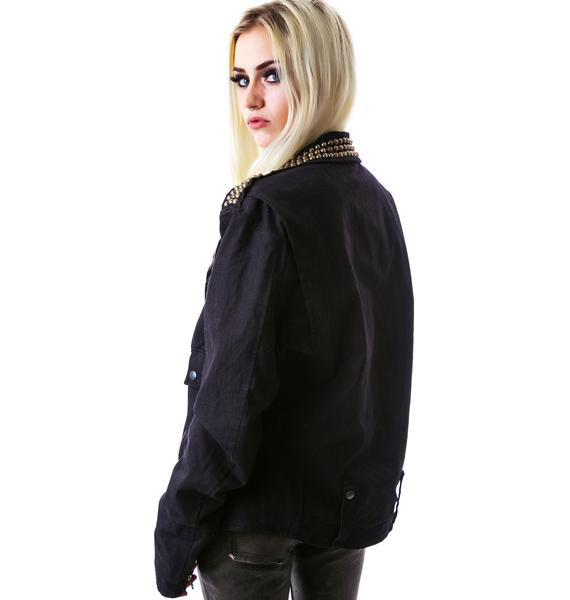 Bess NYC Outsider Denim Jacket