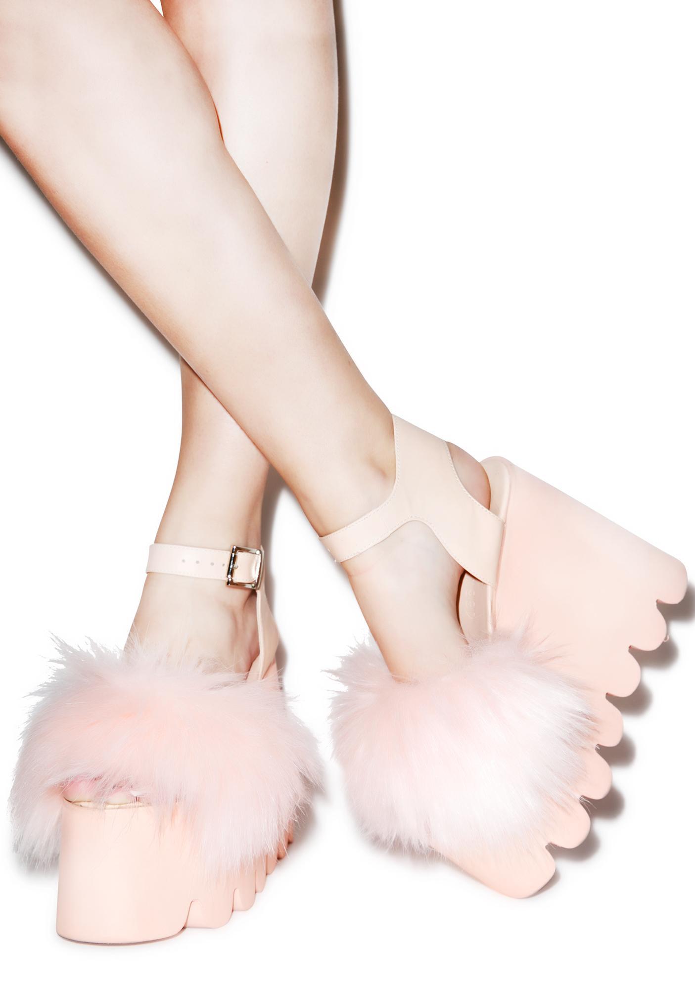 Current Mood Candy Cloud Sandals