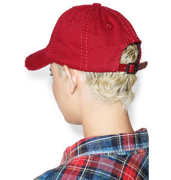 Crimson Destroyed Dat Hat