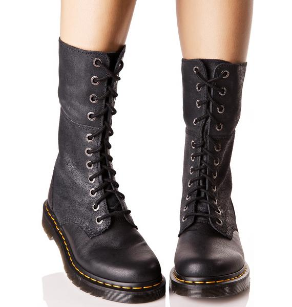 Dr. Martens Hazil Tall Slouch Boots