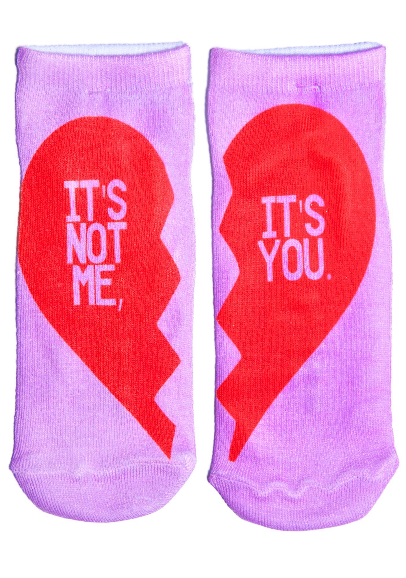 Break Yer Heart Ankle Socks