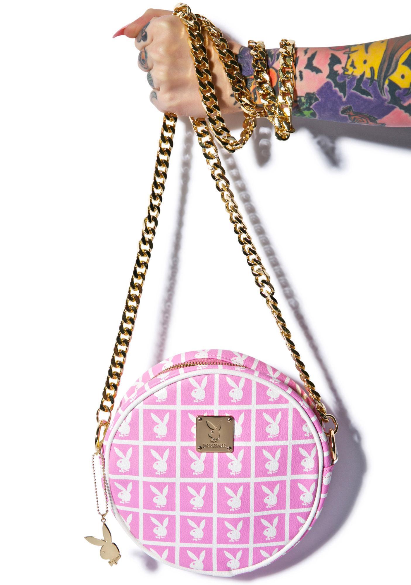 Joyrich X Playboy Panel Pochette Crossbody Bag