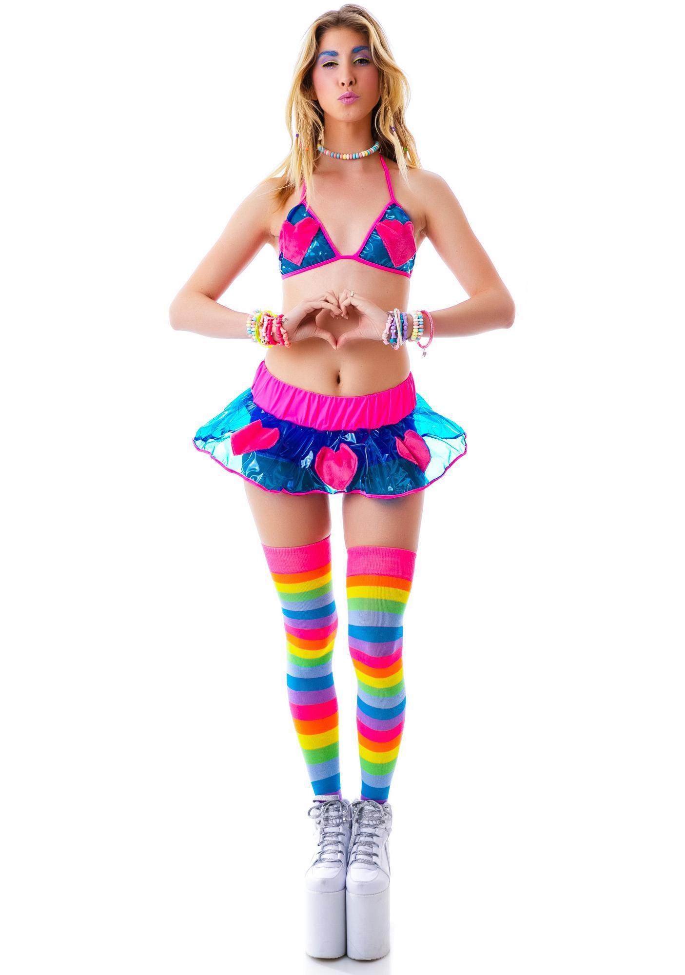 J Valentine Heartstopper Skirt Set