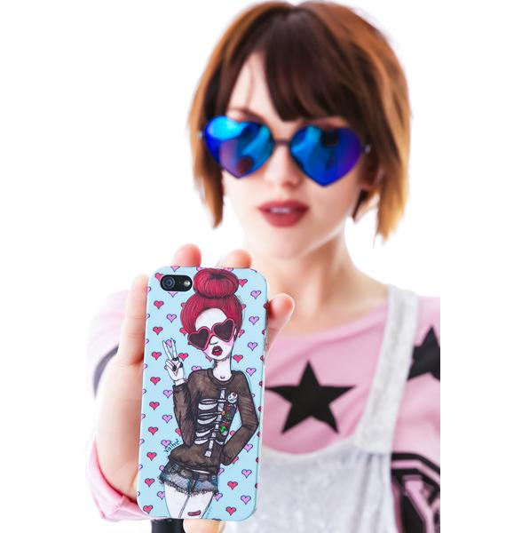Valfré Peace and Love iPhone 5 Case