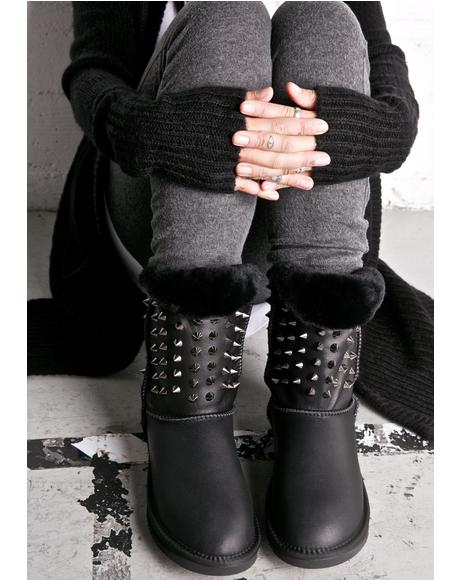 Pistol Spiked Boots
