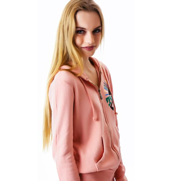 Day By Day We Go Round Zip Hoodie